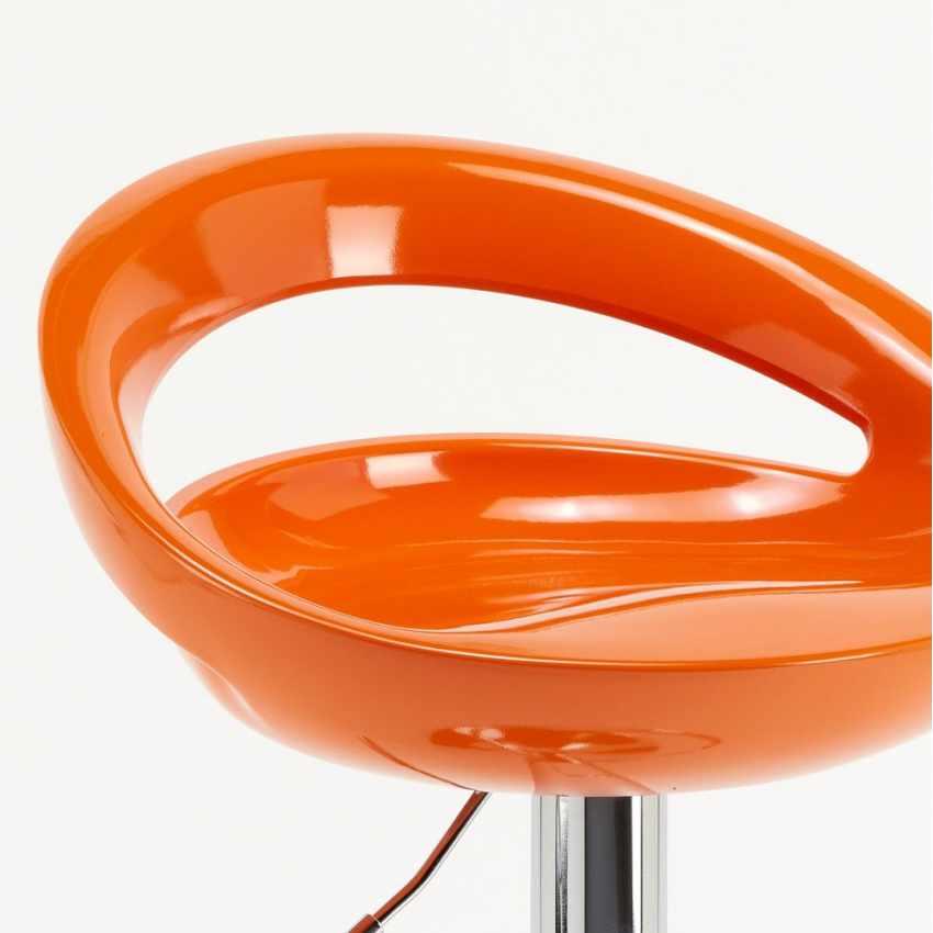 Taburete de bar cocina alto pen nsula fijo giratorio ajustable reposapi s hollywood - Taburete alto cocina ...