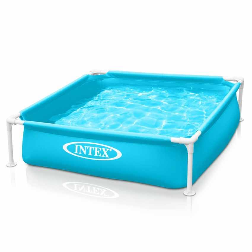 57173 - Intex 57173 piscina cuadrada Mini Frame para los niños - scontato