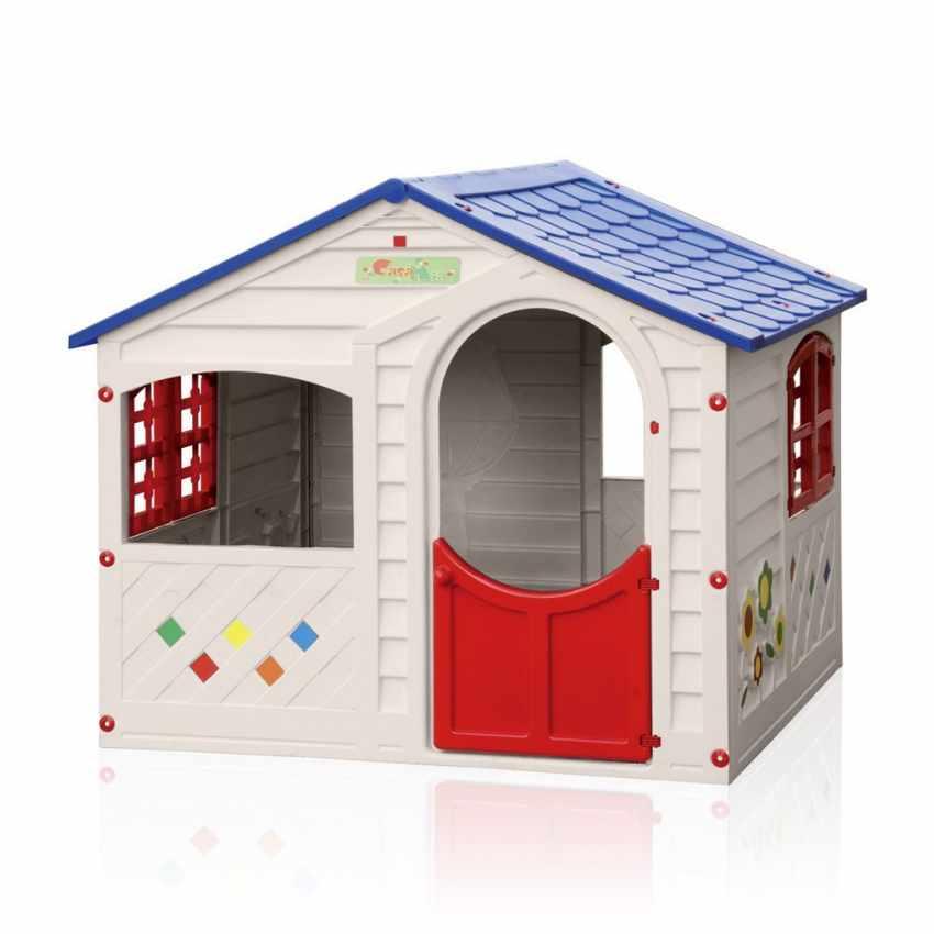 casita de pl stico para ni os grand soleil jard n casa mia. Black Bedroom Furniture Sets. Home Design Ideas
