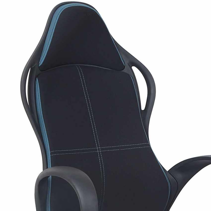 Silla de oficina deportiva sillòn gaming comoda ergonomica LOS ANGELES - prezzo