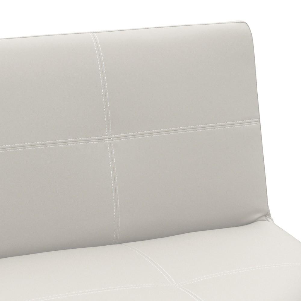 Sofá cama 3 plazas cuero polipiel TOPAZIO pronto letto | eBay