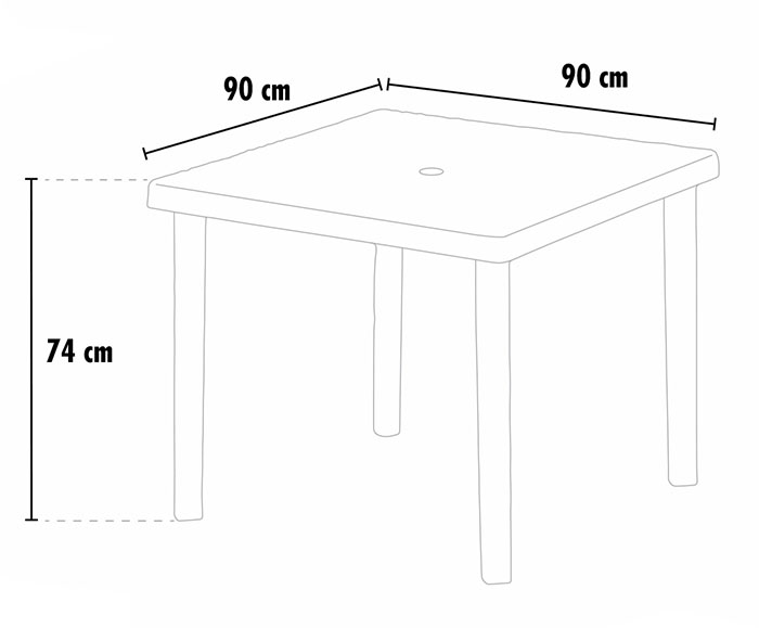 Tavoli-bar-Polyrattan-quadrati-90x90-Gra